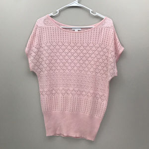 Pink New York & Company Sweater